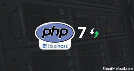 How To Update To PHP 7 In Bluehost Web Hosting Using cPanel